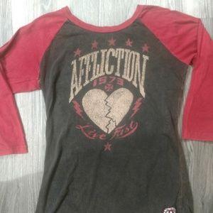 Affliction T Shirt size L